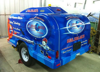 trailer mounted hydro jetter