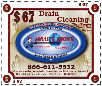 drain cleaning coupons